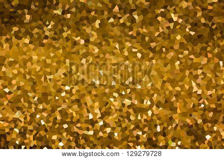 Crystallize Style Brown Earth Tone Colour Abstract Background