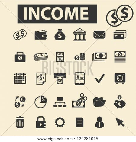 income icons