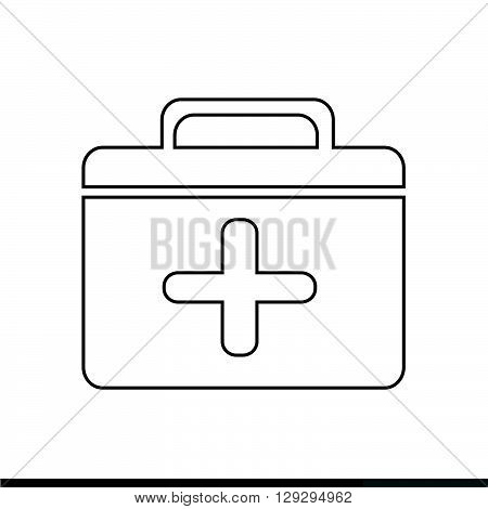 an images of First aid icon illustration design