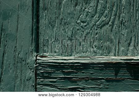 a picture of an exterior 1880's building wood barn door
