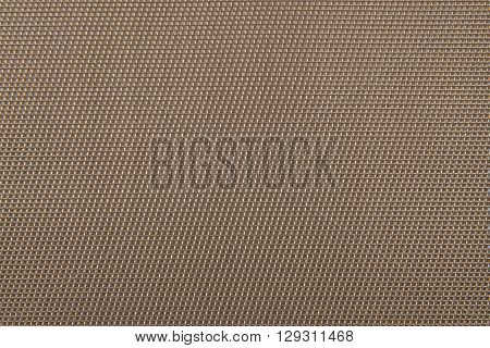 Abstract plastic mesh texture background in brown