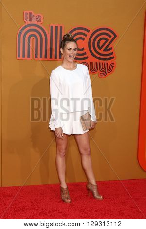 LOS ANGELES - MAY 10:  Lauren Shaw at the The Nice Guys Premiere at the TCL Chinese Theater IMAX on May 10, 2016 in Los Angeles, CA
