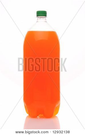 Two Liter Bottle Of Orange Soda