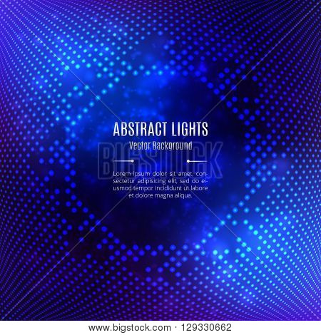 Background abstract blue vector, Octagonal 3D geometric shape on a light background. Template for brochures banners flyers website covers catalog. Palette: turquoise, blue, purple