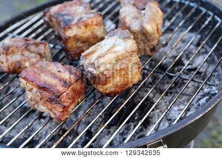 Cooking Of Pork Ribs