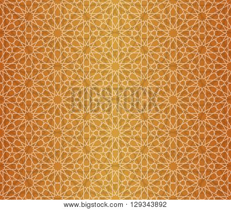 Islamic pattern. Seamless vector islamic background. Geometric islamic texture, arabian style
