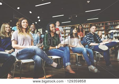 Student Study Classmate Classroom Lecture Concept