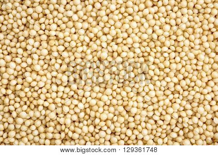 gluten free amaranth grain background - life size macro