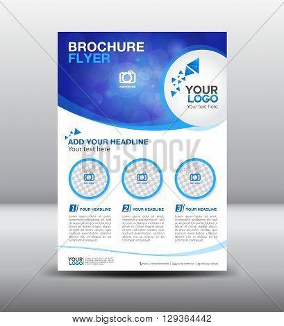 business brochure flyer design layout template newsletter Leaflet poster flyer layout vector design