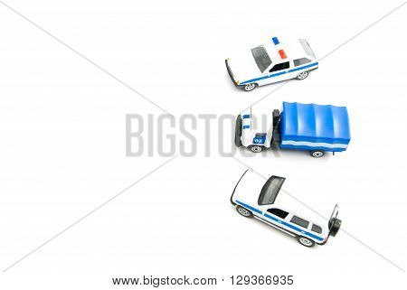 Three Police Cars