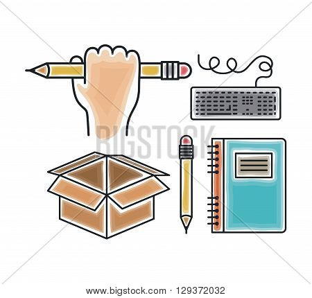 education concept design, vector illustration eps10 graphic