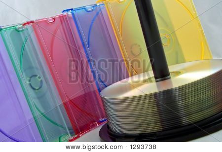 Cd Spindle And Cases