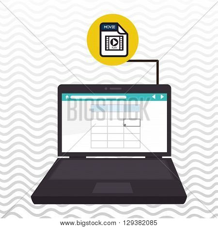 file format design, vector illustration eps10 graphic