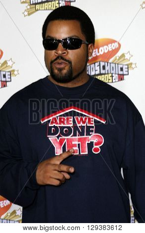 Ice Cube at the Nickelodeon's 20th Annual Kids' Choice Awards held at the Pauley Pavilion in Westwood, USA on March 31, 2007.