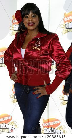 Niecy Nash at the Nickelodeon's 20th Annual Kids' Choice Awards held at the Pauley Pavilion in Westwood, USA on March 31, 2007.