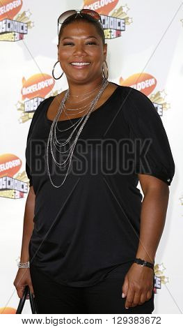 Queen Latifah at the Nickelodeon's 20th Annual Kids' Choice Awards held at the Pauley Pavilion in Westwood, USA on March 31, 2007.