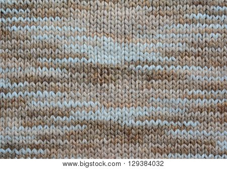 Melange Knitting Wool Texture Background