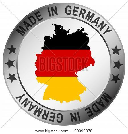Round Quality Button Made In Germany