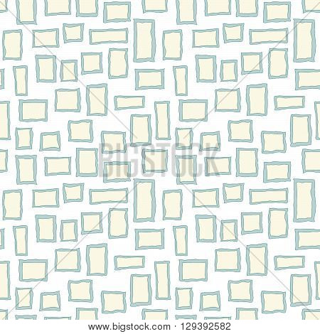 seamless abstract window pattern background in different colors