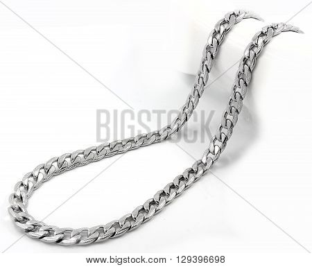 Men's Necklace - Stainless Steel - Silver Jewelery