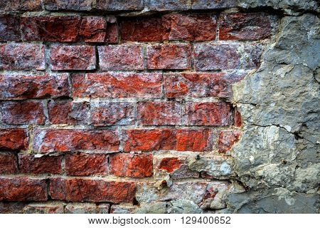 old brickwork wall - abstract background
