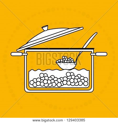 food preparation instructions design, vector illustration eps10 graphic