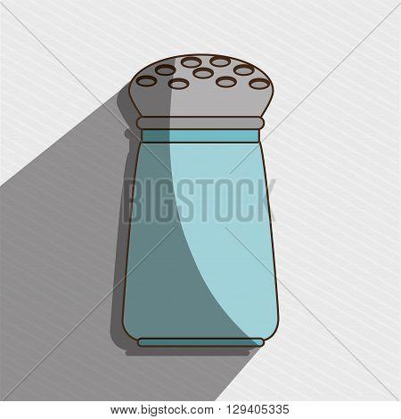 salt shaker design, vector illustration eps10 graphic