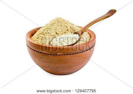 Flour And Sesame Seeds