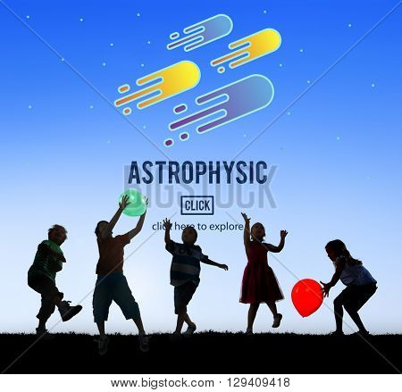 Astrophysic Astronomy Exploration Nebular Concept