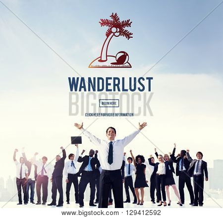 Wanderlust Travel Tourism Destination Concept