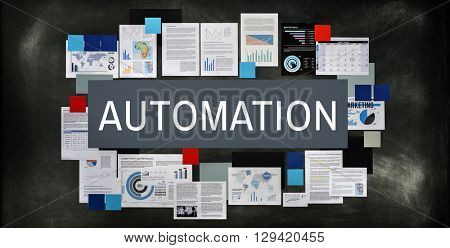 Automation Manufacture Operation System Concept