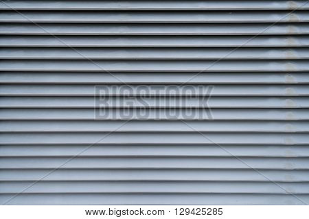 Metal air vent background texture in horizontal pattern