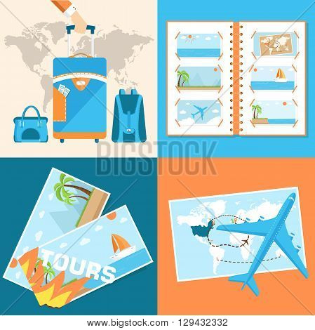 Tour Of The World Tourism With Fast Travel