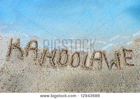 Islands In The Sand Kahoolawe