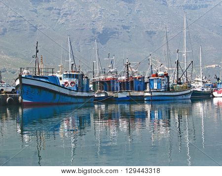 View Of Boats, Hout Bay Cape Town South Africa