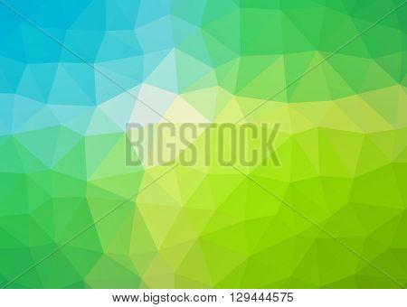 Triangle Polygonal Pattern