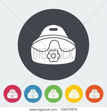 Potty icon. Flat vector related icon for web and mobile applications. It can be used as - logo, pictogram, icon, infographic element. Vector Illustration.