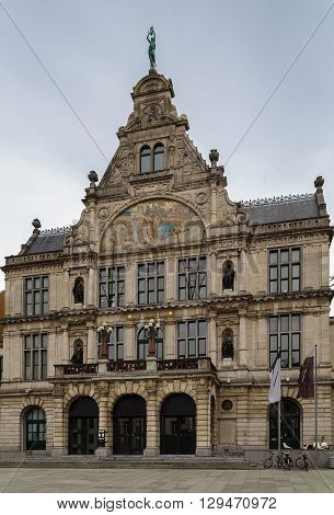Building of Royal Dutch Theatre in Ghent Belgium
