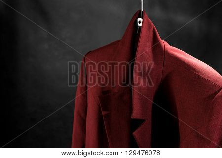 Female Jacket On Hanger