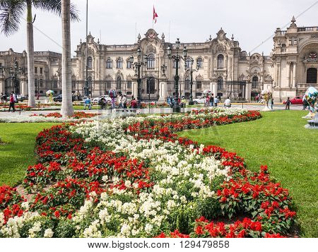 The Government Palace Of Lima