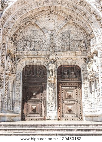 Main Door To The Monastery