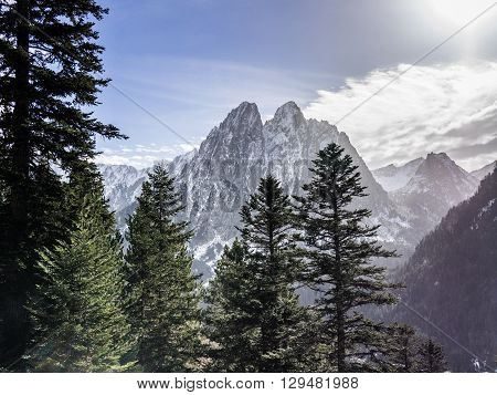 Mountains Of The Pyrenees
