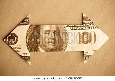 Dollar Bill Arrow