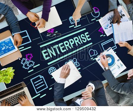Enterprise Campaign Corporation Establishment Concept