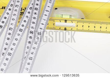 folding ruler & building level