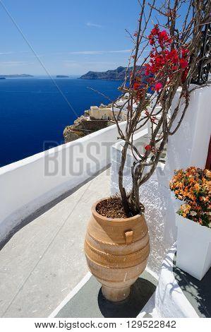 Oia luxury decks and patios