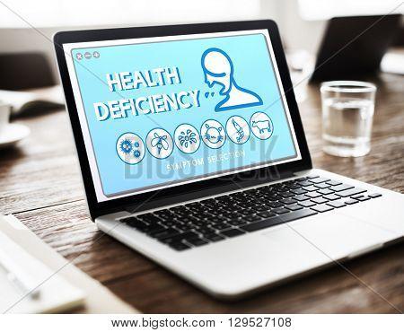 Health Deficiency Allergy Disorder Sickness Healthcare Concept