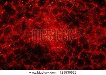 art red lava stone pattern illustration background