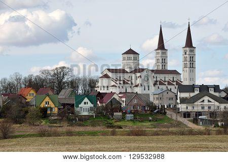 Church of Rietavas. Rietavas is a city in Lithuania. It is the capital of Rietavas municipality.