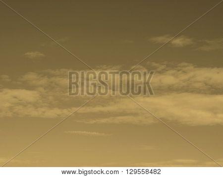 Blue Sky Sepia